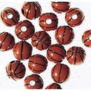 Basketball Beads- 1lb.