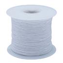 White Elastic Cord 100yd - Medium