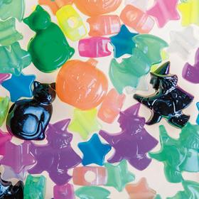 Halloween Beads Assortment (260/bag), Price/per bag