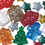 Christmas Bead Assortment 1/2-lb Bag