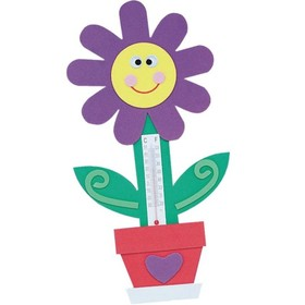 Flower Thermometer Magnet (pk/12), Price/per pack