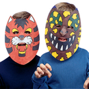 Color-Me Masks - Unprinted Animal