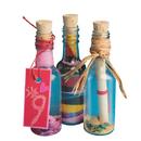 Plastic Sand Art Bottles with Cork