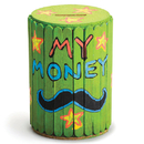 Craft Stick Barrel Bank Craft Kit