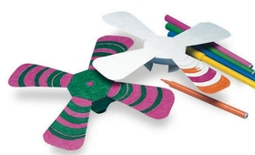 Color n' Throw Boomerang Craft Kit (pk/24), Price/per pack