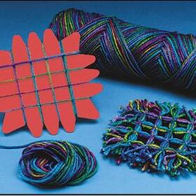 Yarn Weaving Coasters (pk/24), Price/per pack