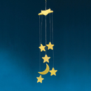 Glow-in the-Dark Moon & Stars Mobile Craft Kit