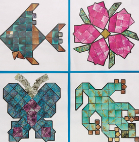 Geeperz GP1751 Mineral Mosaics Craft Kit (makes 32), Price/pack of 32