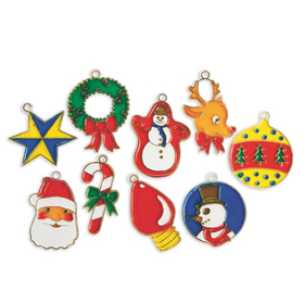 Christmas Cuties Stain-A-Frames (pk/18), Price/per pack