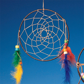 Native American Dream Catcher (pk/15), Price/per pack