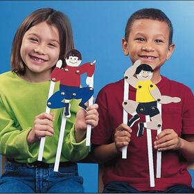Geeperz GP967 Playful Puppet People Craft Kit (makes 24)