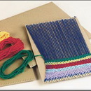 Prenotched Cardboard Looms