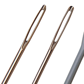 Large Eye Needles - Steel (pk/25), Price/per pack