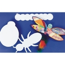 Precut Cardboard Shapes Large - Insects