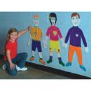 Life-Size Finger Paint Paper - Kid Shape