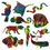 Melissa & Doug PE1776 Scratch-Art Rainforest and Sea Life Shapes (pack of 50)