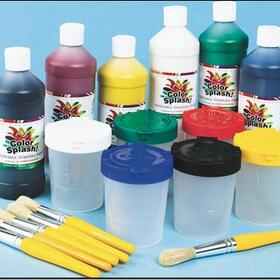 Color Splash ashable Tempera Paint Kit, Price/per set
