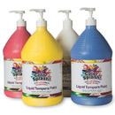 128-oz. Color Splash! Liquid Tempera Paint - Set A