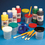 Color Splash! Liquid Tempera Paint 16 oz. Easy Pack, Assorted