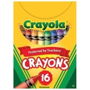 Crayola Regular Size Crayons, Box of 16