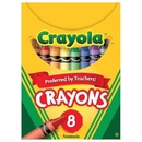 Crayola Regular Size Crayons, Box of 8