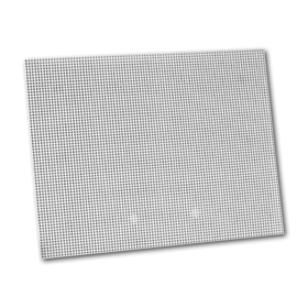 "Pre-Punched White Plastic Canvas 12x18"", Price/each"