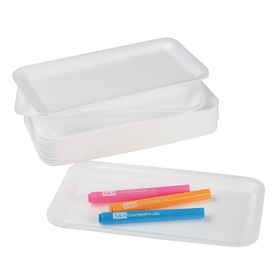 "Foam Tray,  5-3/4x10-3/4"" (pk/12), Price/per pack"
