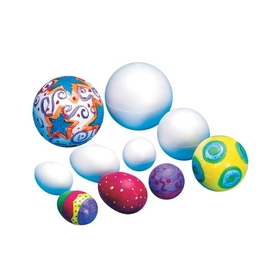 "Styro foam Ball 2-1/2"" (pk/12), Price/per pack"