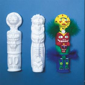 Totem Poles (pk/12), Price/per pack