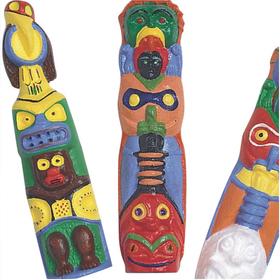Totem Poles (pk/120), Price/per pack