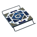 Black Square Cradle Trivet