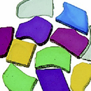 Plastic Mosaic Tiles, 1-lb. Bag