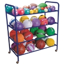 Double Wide All Ball Rack