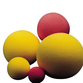 "8-1/2"" Uncoated Foam Ball, Price/each"