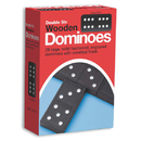 Double-Six Wooden Dominoes