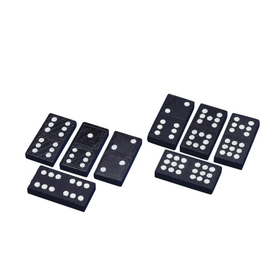 Double-Nine Wooden Dominoes (set/55), Price/per set