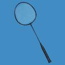 Economy Steel Badminton Racquet