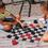 Jumbo Checkers & Backgammon Game Rug