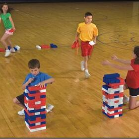Patriotic Super Tumbling Timbers, Price/each