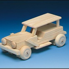 Wood Jeep Kit, Price/each