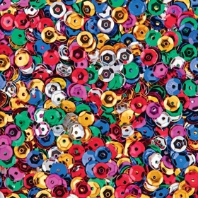 Multicolor Cup Sequins (pk/6000), Price/per pack