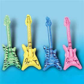 GOGO Inflatable V Shaped Guitars, Christmas Gift, Price/24 Pcs