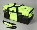 Safety Flag GB32 Gear Bag - Green with Black Trim & Silver Stripes