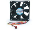 Startech 80x25mm Dual Ball Bearing Computer Case Fan w/ TX3 Connector