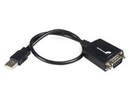 Startech 1 ft USB to RS232 Serial DB9 Adapter Cable with COM Retention