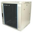 Startech 12U 19in Hinged Wall Mount Server Rack Cabinet w/ Vented Glass Door