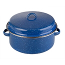 Stansport 10640 Enamel Cook Pot With Lid - 5 Qt