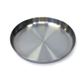 Stansport 263 Stainless Steel Plate - 9 In.