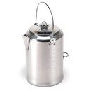 Stansport 279 Aluminum Percolator Coffee Pot - 20 Cup