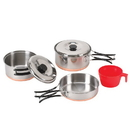 Stansport 361 One Person Stainless Cook Set